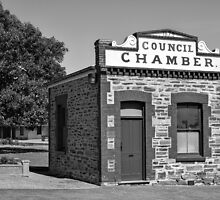 Old Council Chambers Port Elliot. by Nick Egglington