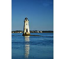 Cockspur Island Lighthouse Photographic Print