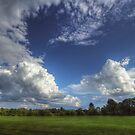 Summertime Golfclub Cloudscape by Aaron Campbell