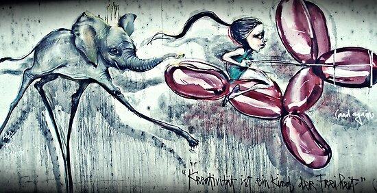 Creativity is Freedom's Child (Kreativität ist ein Kind der Freiheit) by heinrich
