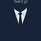 Suit UP - navy by Maggie Cellucci