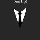Suit UP - charcoal by MCellucci