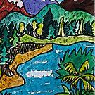 Fantasy Landscape by Monica Engeler