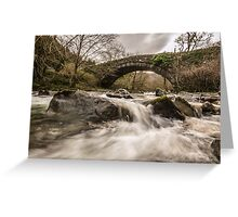 Fast Flowing. Greeting Card