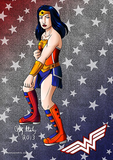 Wonder Woman by DynamiteCandy