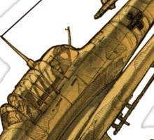 Stuka JU-87 Sticker