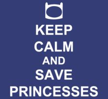 KEEP CALM AND SAVE PRINCESSES FINN by AshlGandy