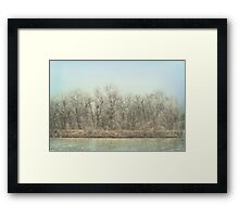 Winter Time Framed Print