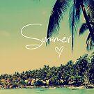 Summer Love Vintage Beach Photography by RexLambo