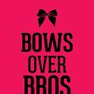 Bows over Bros Cheer Bright Magenta by RexLambo