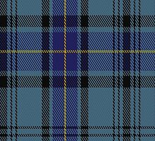 00484 Hannay Blue Tartan Fabric Print Iphone Case by Detnecs2013