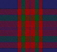 00498 McBrayer Blue Tartan Fabric Print Iphone Case by Detnecs2013