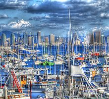 Sail Away San Diego by WolfPause