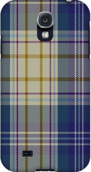 00500 Portree Blue Dance Tartan Fabric Print Iphone Case by Detnecs2013