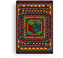 Eye Candy Op aRt Canvas Print
