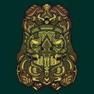 Skull Trooper Green by quakerninja