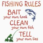 FISHING - RULES by JAYSA2UK
