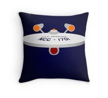All I Ask is a Tall Ship Throw Pillow