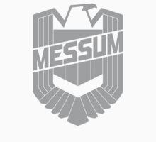 Custom Dredd Badge Shirt - (Messum) by CallsignShirts