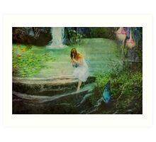 The Fairy Piper Art Print