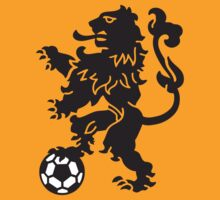 Dutch Lion Weapon with soccer ball by LaundryFactory