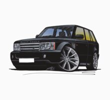 Range Rover Sport Black by Richard Yeomans