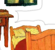 Vincent's Room Sticker