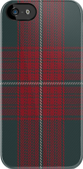 00502 Abaco Loyalist Tartan Fabric Print Iphone Case by Detnecs2013
