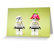 A Stormtrooper's Hangover Greeting Card
