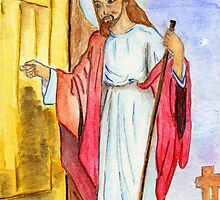 Jesus Knocks by Anne Gitto