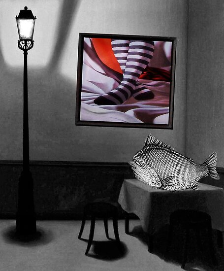 Striped With Fish by SuddenJim