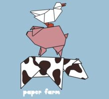 Paper farm - stack by bexcaboo