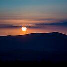 Sun setting over Shropshire by Matt Sillence