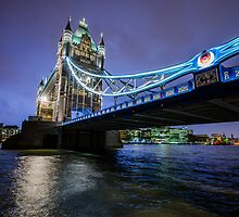 Tower Bridge, London by James Farley