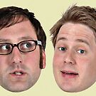 Tim and Eric by axLhimself