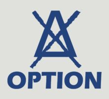 Option Simple logo blue by tnoteman557