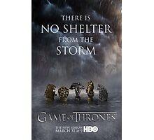 Game of Thrones Season 3 Poster Photographic Print