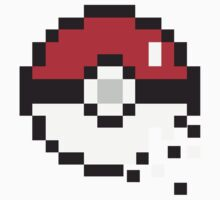 8-bit Pokeball by byCreek