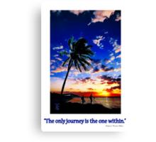 Sunrise from the Florida Keys Canvas Print