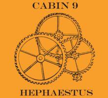 Camp Halfblood - Hephaestus Cabin by PJOCommittee