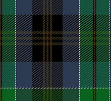 00523 Black Gold Tartan Fabric Print Iphone Case by Detnecs2013