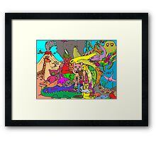 Species Extinction Framed Print