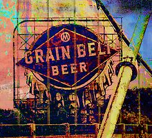 Grain Bell Beer by susan stone