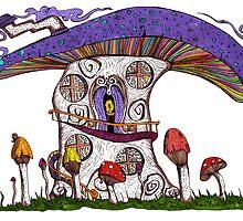 Mushroom House II by Octavio Velazquez