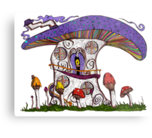 Mushroom House II Metal Print