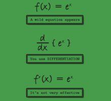 Not Very Effective Maths (Light Shirt) by Jo Khoury