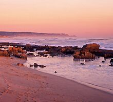 St Andrews Beach at dusk by Roger Neal