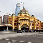 Flinders Street Station by Karyn Lake