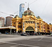 Flinders Street Station by Karyn Lake
