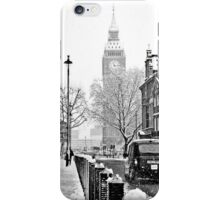 Winter in London case iPhone Case/Skin
